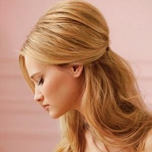 Прически для волос средней длины для гостей на свадьбу