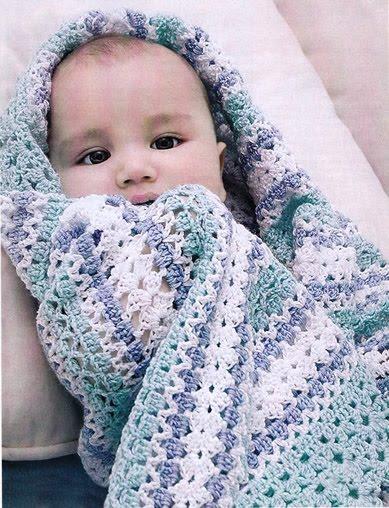 Вязаное одеяло для новорожденного своими руками спицами фото 978