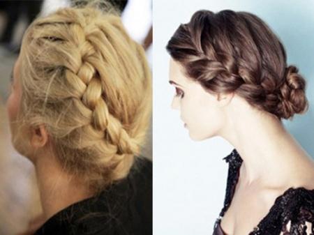 Коса Тимошенко - как плести. Как самостоятельно заплести косу вокруг головы?