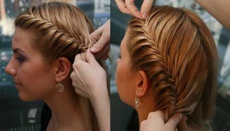 Плетение косичек на средние волосы. Косички – это всегда красиво, стильно и очень женственно.