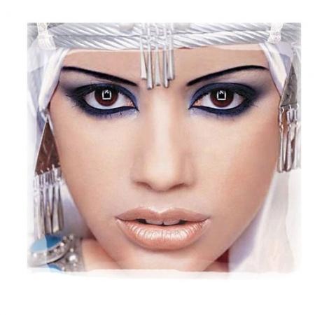 Арабский макияж для карих глаз. Восточная красота