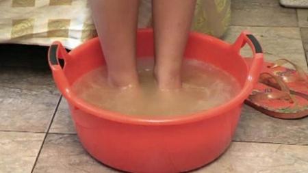 Горчичная ванна для ног. Отличная процедура