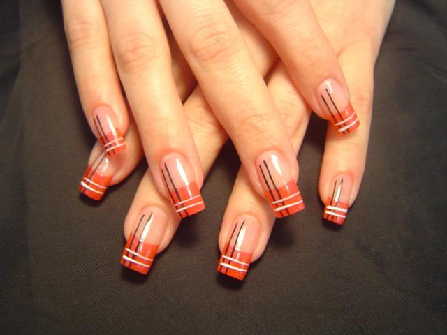 Ногти несложный дизайн