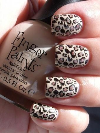 Леопардовый рисунок на ногтях. Рекомендации