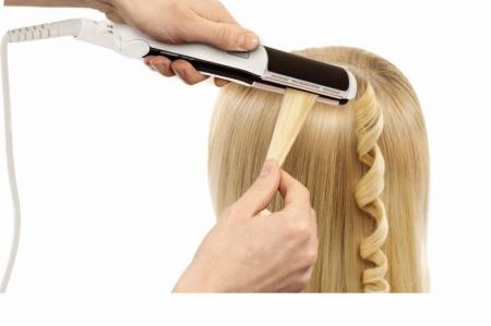 Накрутка волос утюжком. Советы и рекомендации