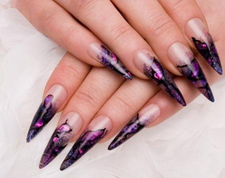 Красивый дизайн нарощенных ногтей. Советы