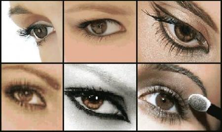 Ежедневный макияж для карих глаз. Особенности