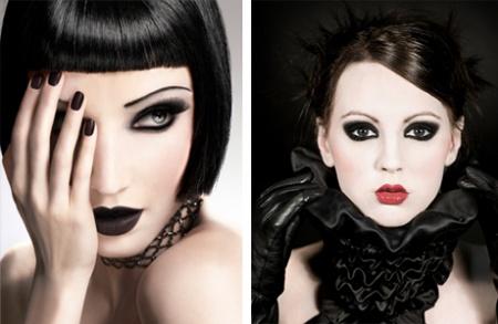 Готический макияж глаз. Советы и рекомендации