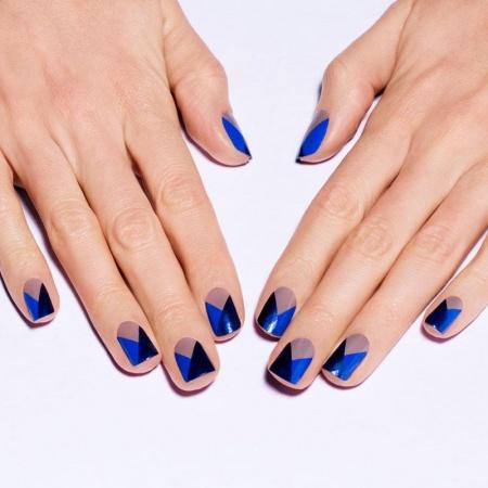 Геометрический рисунок на ногтях. Особенности