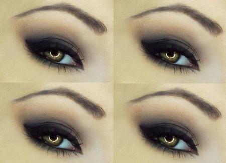 Зимний макияж для карих глаз. Особенности нанесения