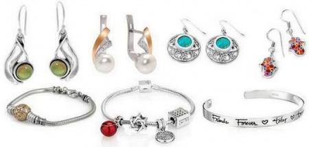 Серебряные украшения с камнями — мечта любой модницы