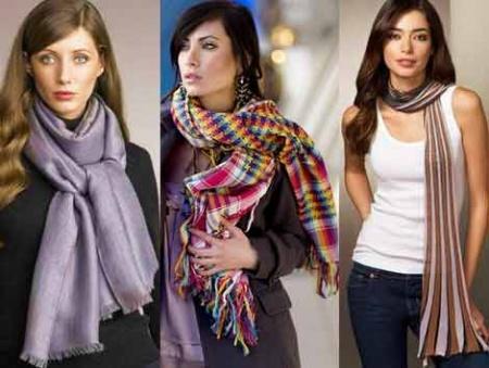 Женские шарфики
