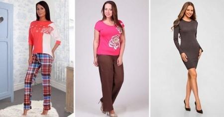 Одежда из трикотажа - отличный выбор на каждый день!