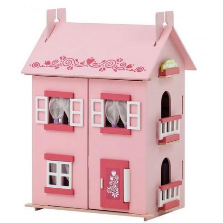 Кукольный домик от интернет-магазина babyvil.ru приносит радость девочкам