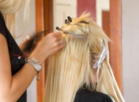 Наращивание волос – как стать красивой быстро