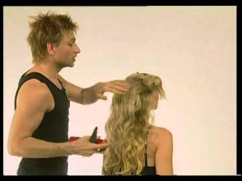 прически с накладными волосами видео уроки