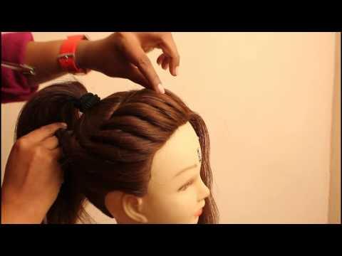простые прически на длинные волосы видео ютуб